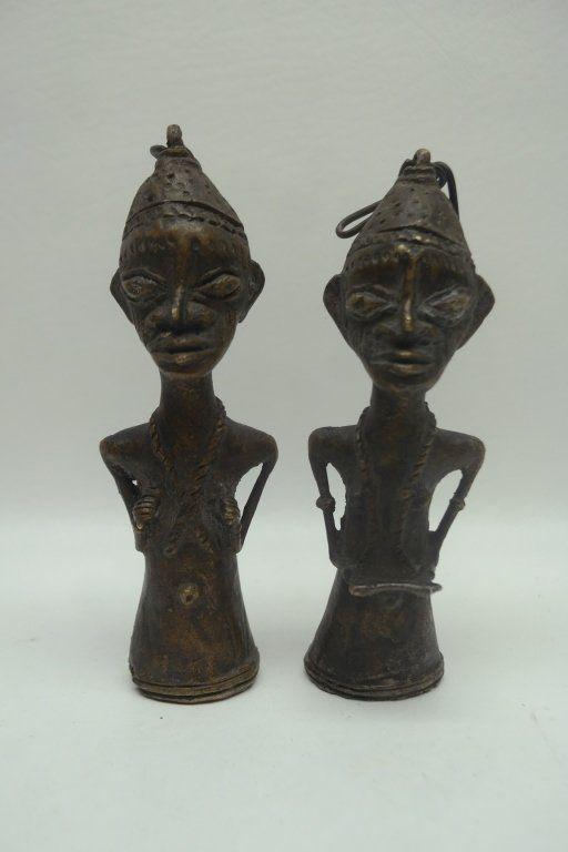 Antique Yoruba Figural Bells