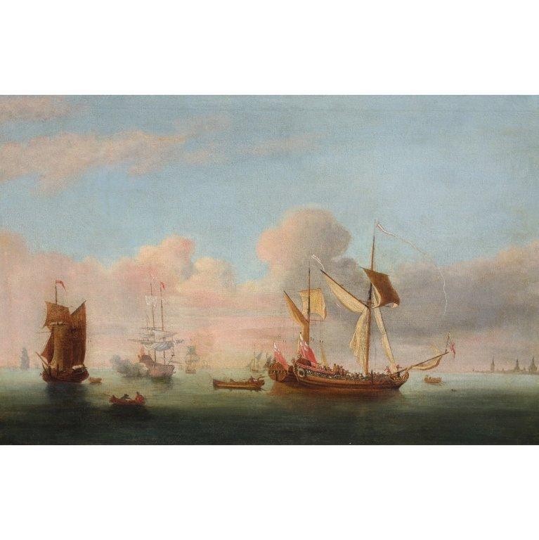 17th C. European Marine Painting
