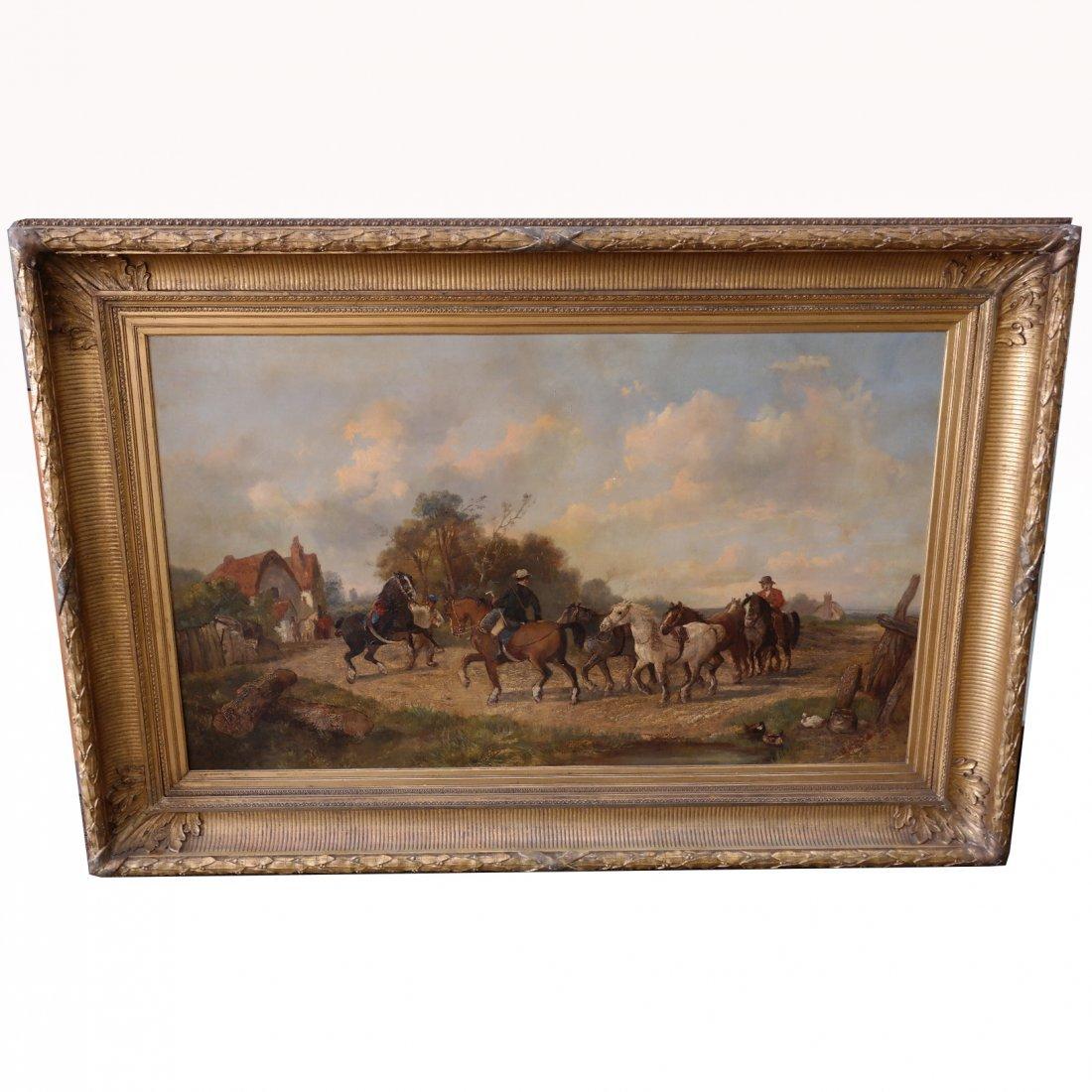 Monumental John Pedder  (1850 -1872) English Landscape