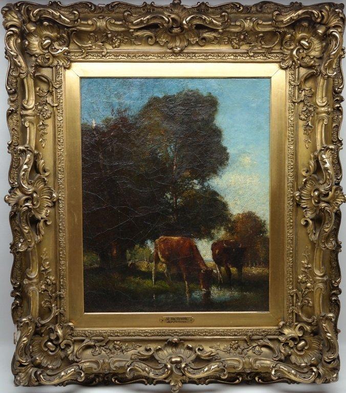 Bertus Pietersz  (1869 - 1938) Oil/Canvas