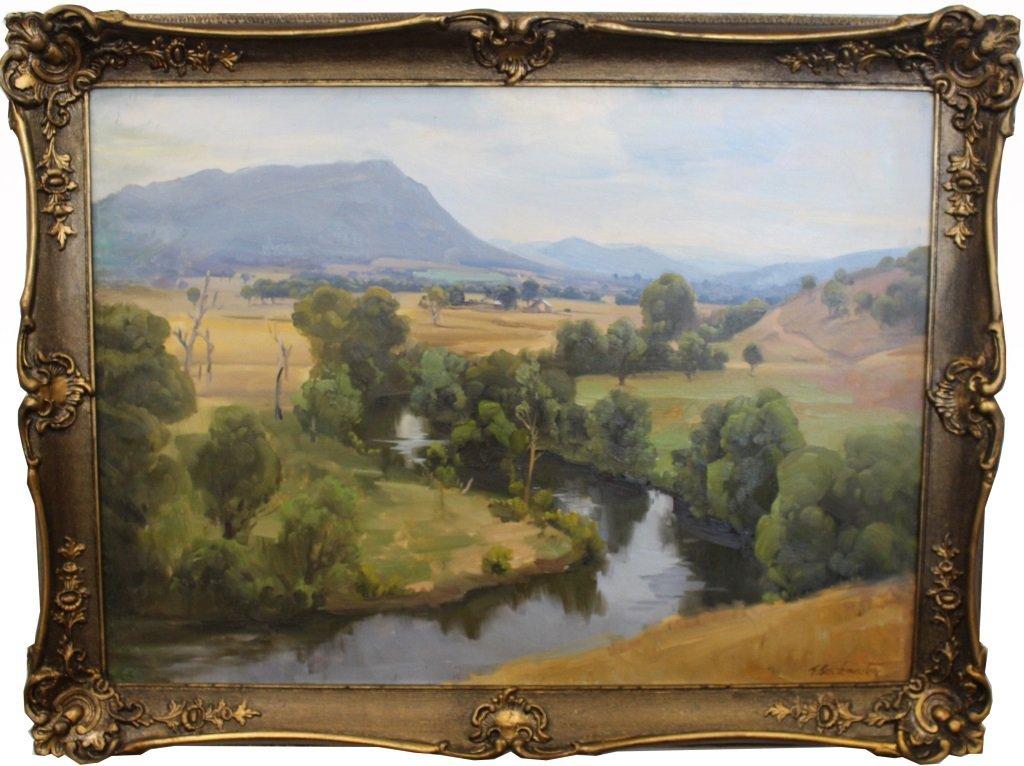 Ernest Buckmaster  (1897-1968) Landscape
