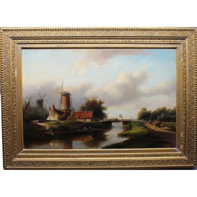 Johannes Spohler (1853-1894) Landscape
