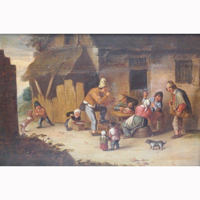 Attr. Adriaen Jansz van Ostade  (1610 - 1685)