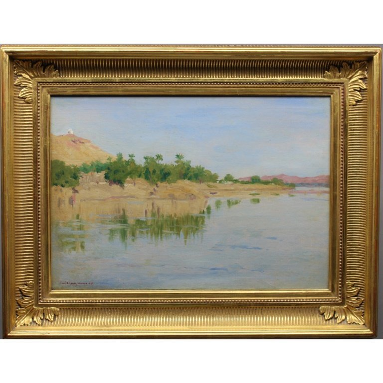 Robert Gauley  (1875 - 1943) Coastal Painting