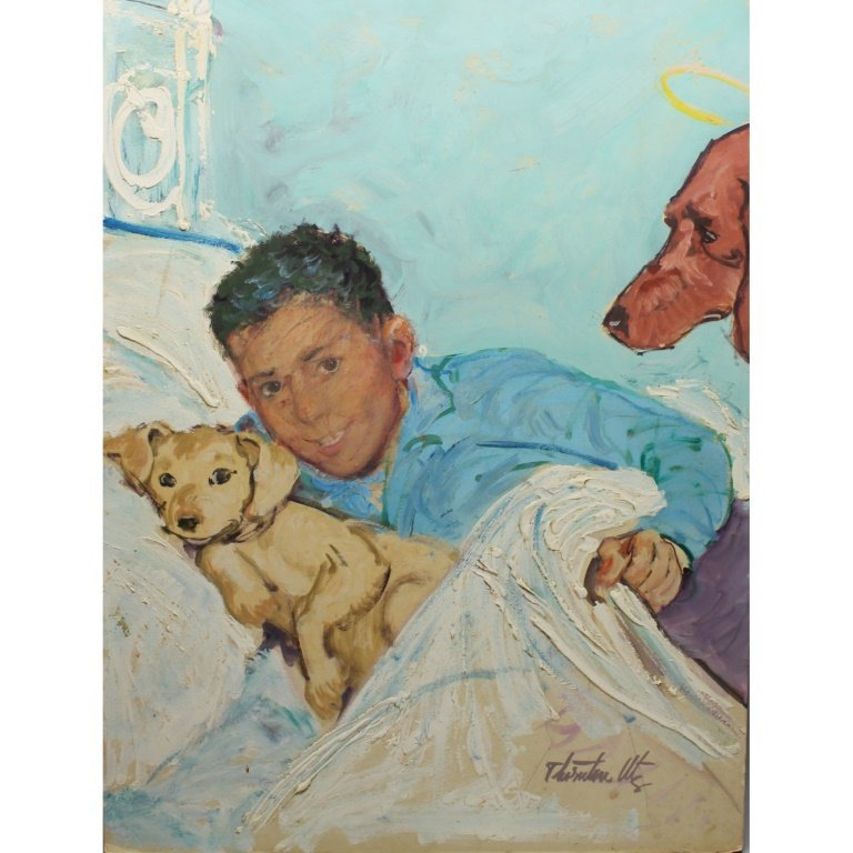 Thornton Utz (1914-1999) Illustration