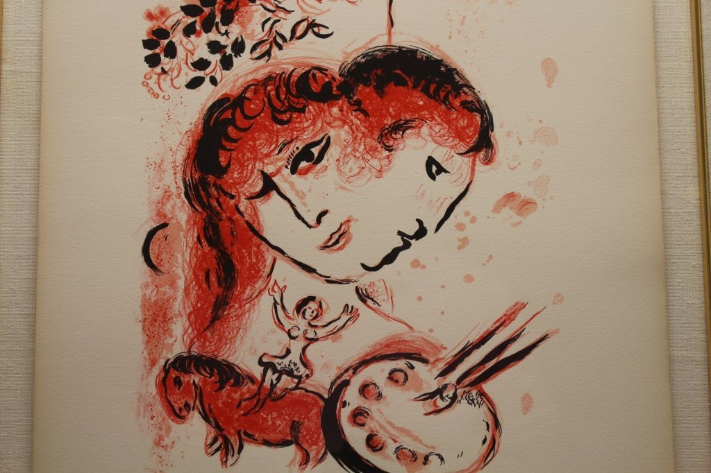 Marc Chagall (1887-1985) 'Couverture' Lithograph - 3
