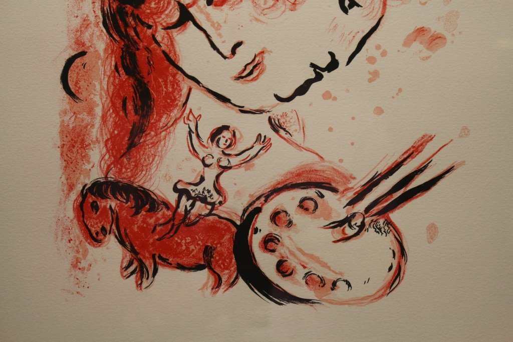 Marc Chagall (1887-1985) 'Couverture' Lithograph - 5