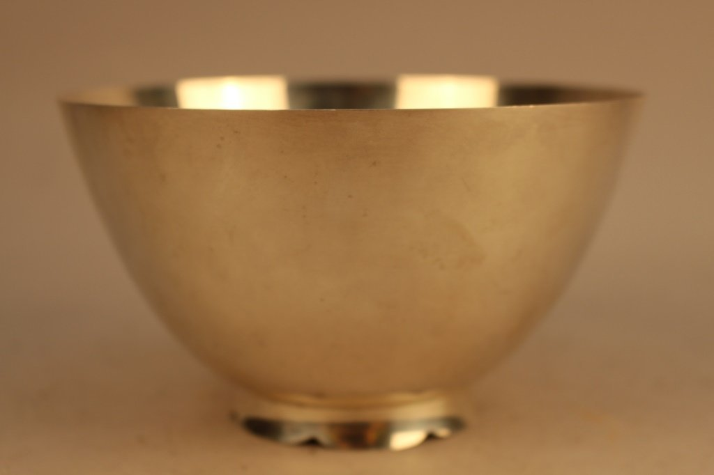 Tiffany & Co. Makers Sterling Bowl