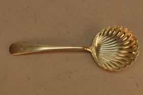 Antique Kirk & Son Sterling Shell Form Spoon