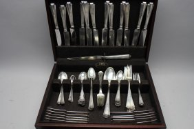 Antique Sterling Silver Flatware Set
