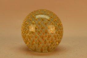 20th C. Murano Hand Blown Glass Sphere