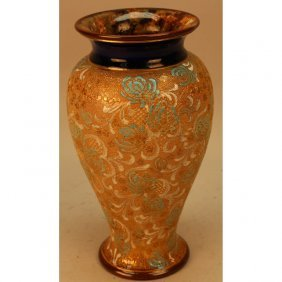 Royal Doulton Salt Glazed Vase