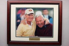 Jack Nicklaus & Arnold Palmer Framed Photo