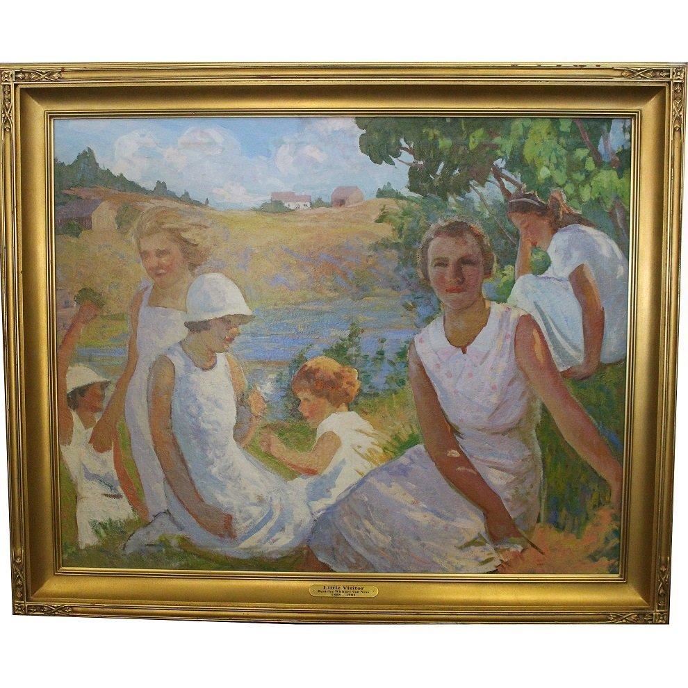 Beatrice Whitney Van Ness (1888-1981) Landscape