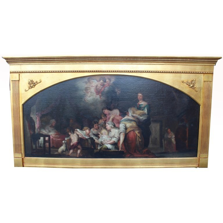 Antique Italian Old Master Oil/Canvas