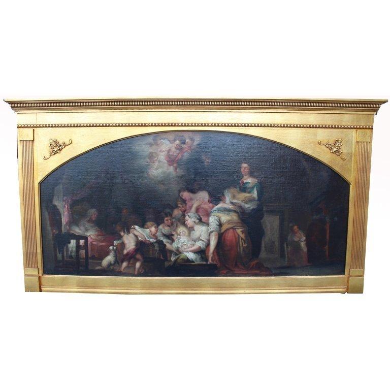 Antique Italian Old Master Oil/Canvas