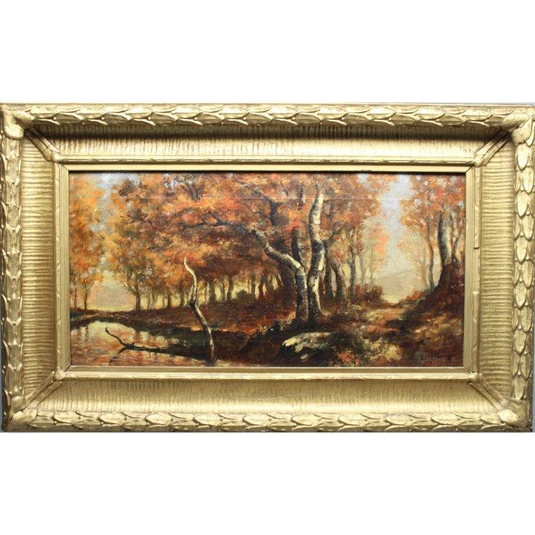 Signed 19th C. American Landscape