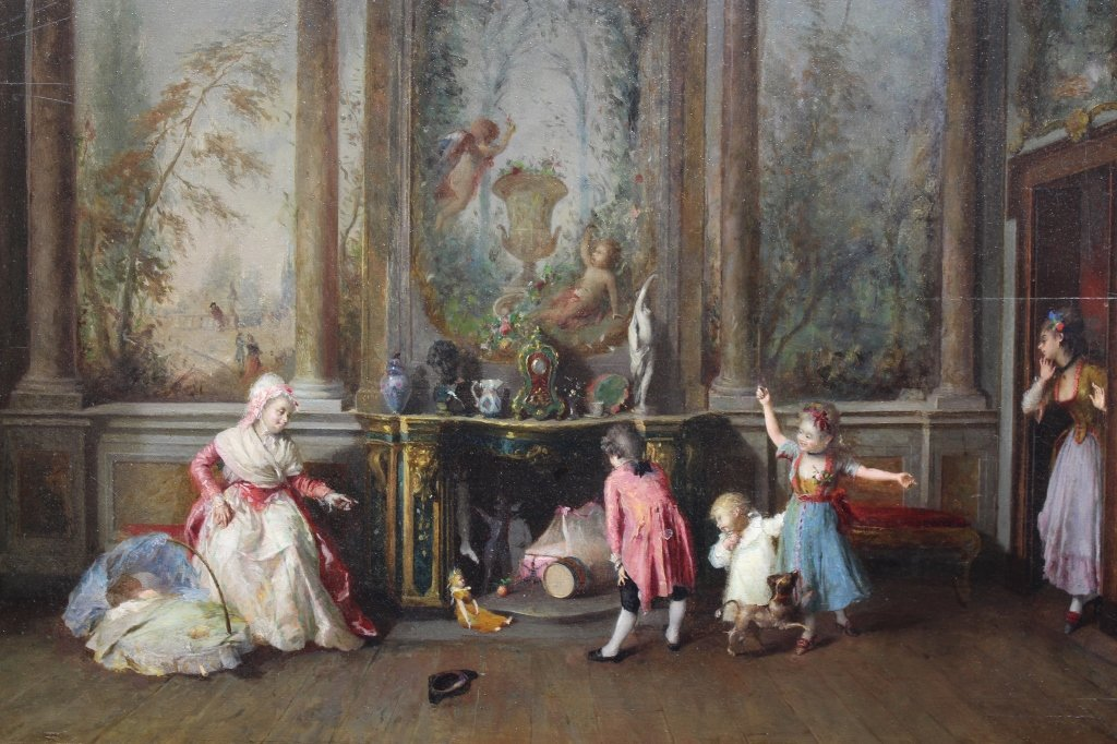 Attr. Louis-Leopold Boilly  (1761 - 1845)