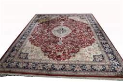 Large Semi Antique Persian Rug