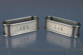 Gorham Sterling Silver Napkin Rings