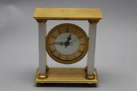 J.e. Caldwell French Opaline Clock