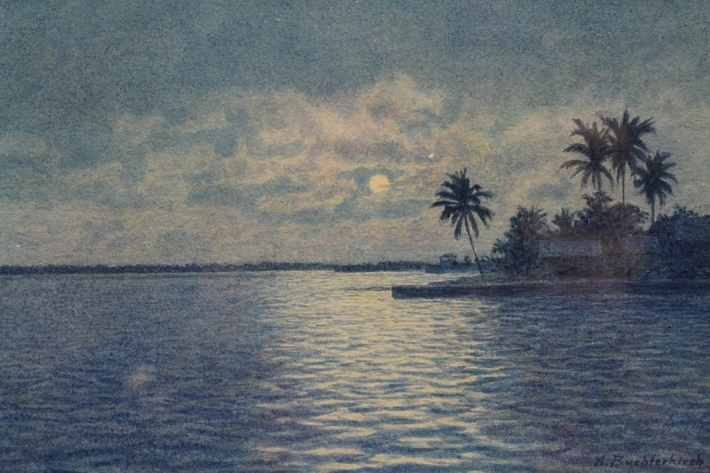 Armin Buchterkirch  (1859 - 1915/19) Watercolor