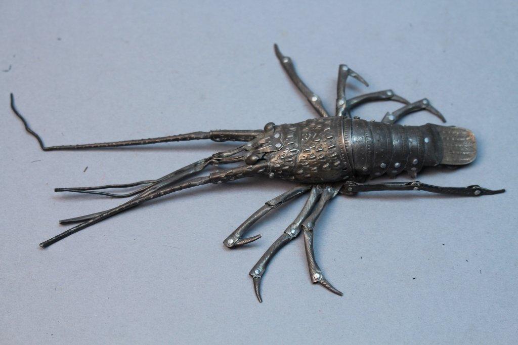 Antique Japanese Meiji Period Articulated Crawfish