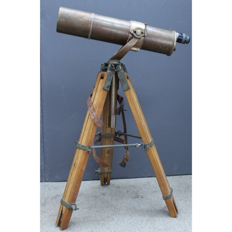 U.S. Navy Ship's Telescope- Bausch & Lomb