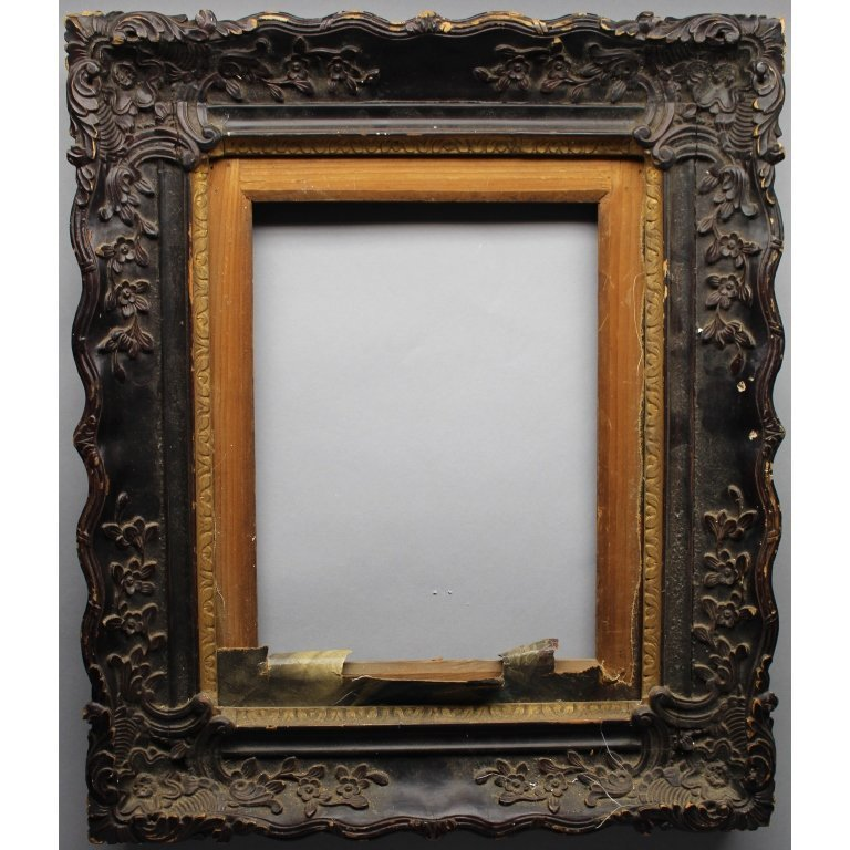 Early 19th C. China Trade Carved Frame