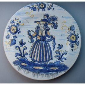 Hand Painted Talavera Ceramic Charger