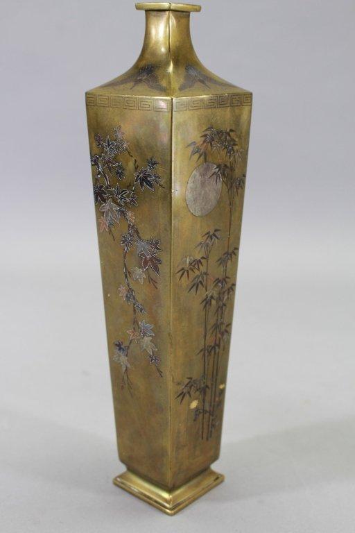 Meiji Period Vase-Workshop of Noboru Nogawa, Japan