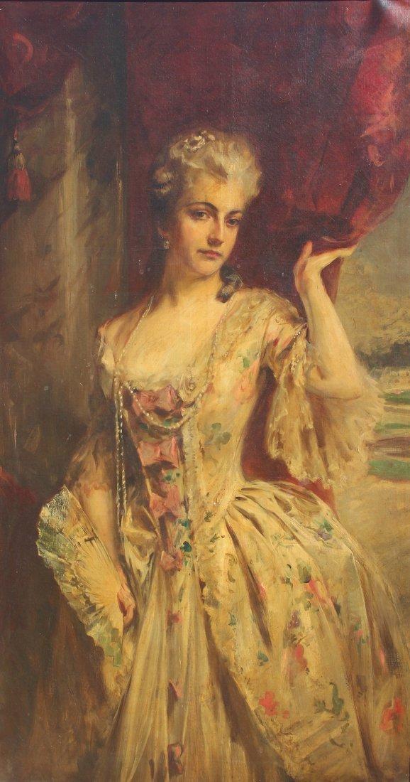 Irving R. Wiles  (1861 - 1948) Full Size Portrait