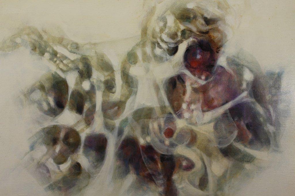John Dineen (American, 20th C) Acrylic/Canvas