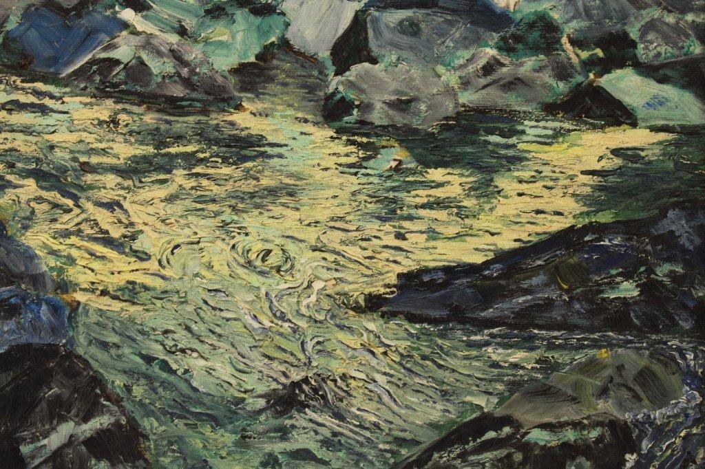 Augusto Sartori  (1880 - 1957) Coastal Scene