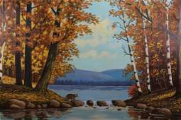 """Norman Day, """"Autumn in the Wild"""" Maine"""