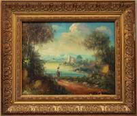 Old Master Style Italian Landscape