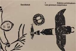 Book of Eskimo Printmakers- Davidialuk