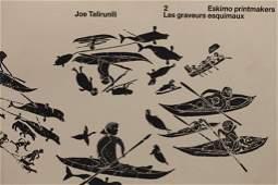Eskimo Printmakers Book- Joe Talirunili