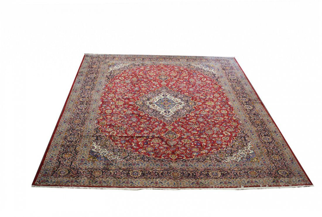 Large Semi Antique Persian Room Sized Rug
