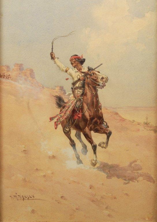 "Herman Hansen  (1854 - 1924) ""Cochise"" - 2"