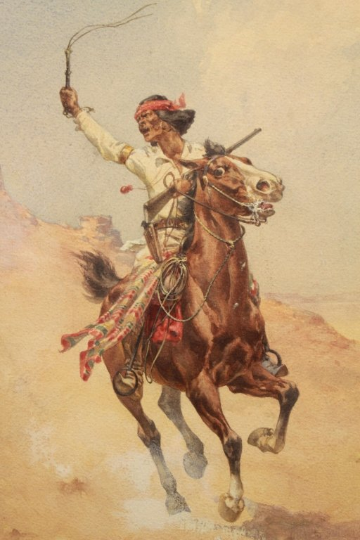 "Herman Hansen  (1854 - 1924) ""Cochise"" - 3"