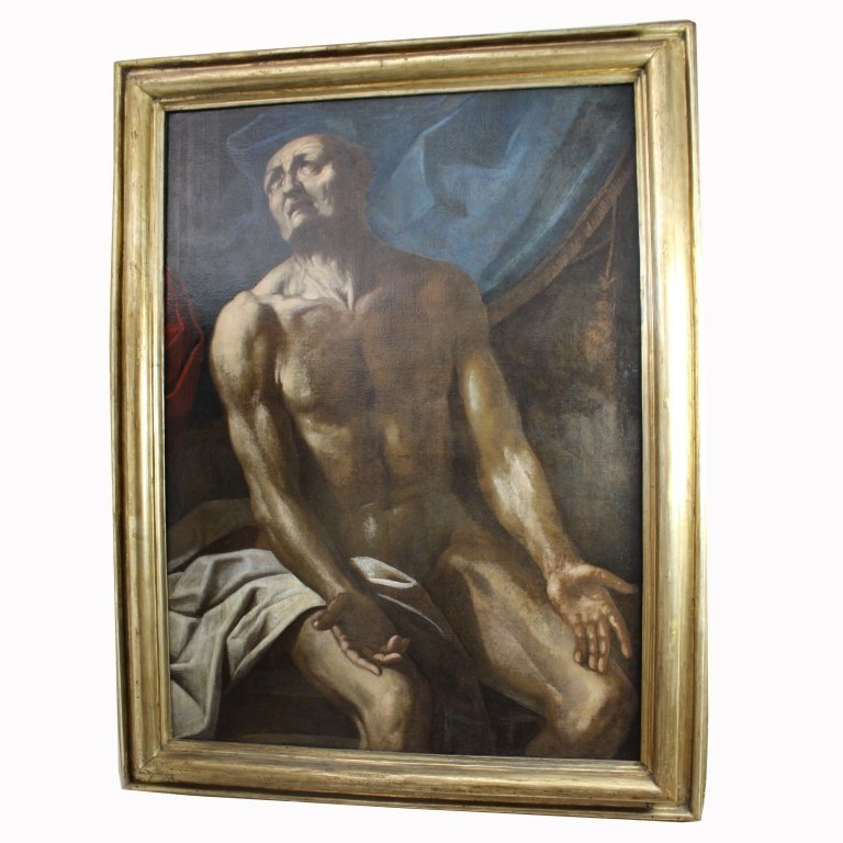 "School of Luca Giordano (1632/34 - 1705) ""Seneca"""