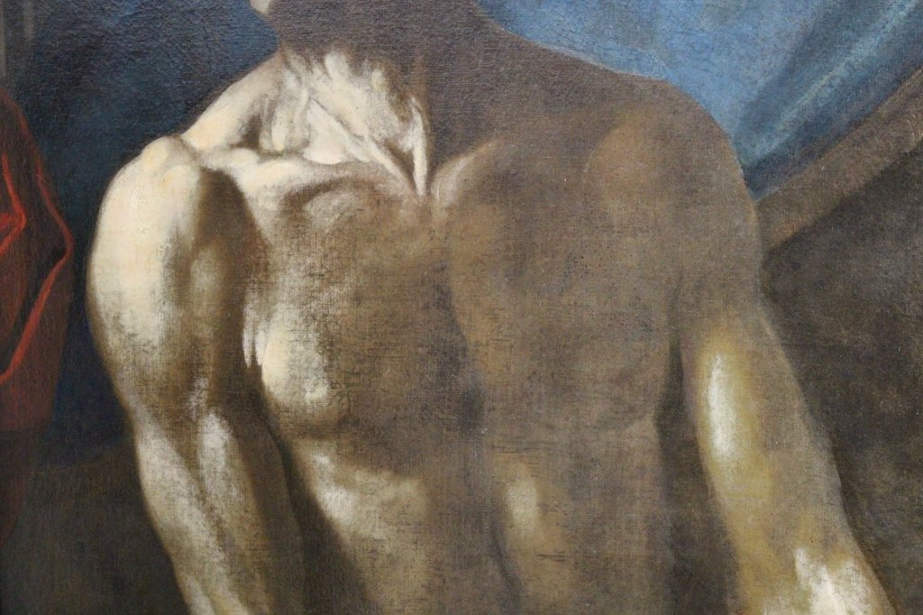 "School of Luca Giordano (1632/34 - 1705) ""Seneca"" - 4"