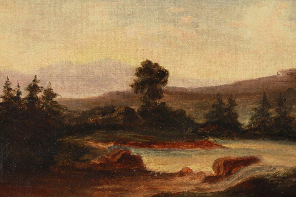Hulbert, Signed Hudson River School Landscape - 2