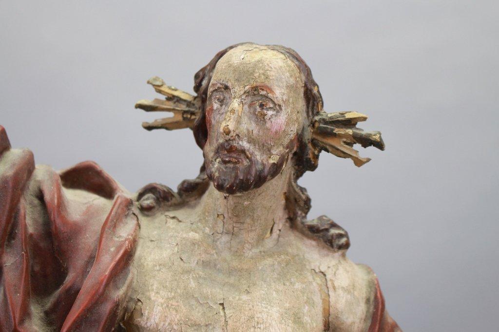 18th C. Italian Carved Santos, Jesus - 2