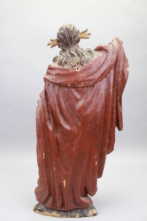18th C. Italian Carved Santos, Jesus - 4