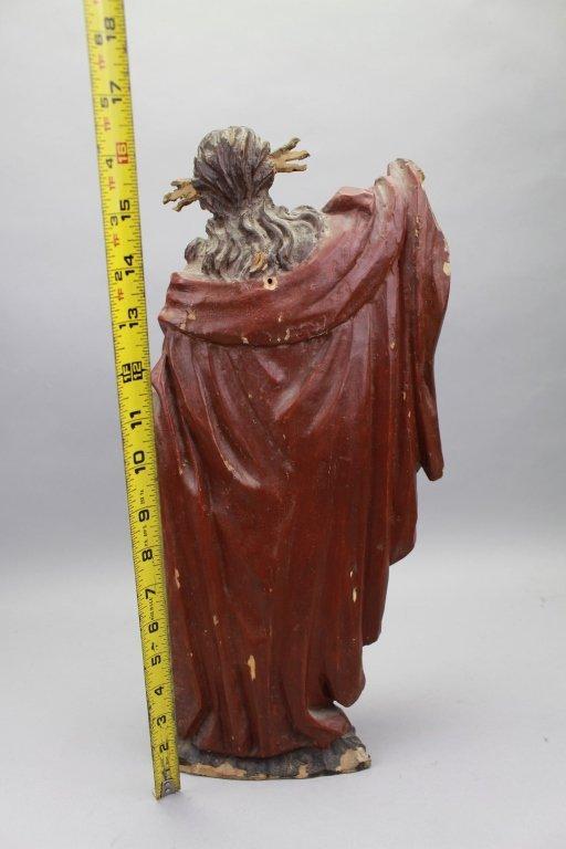 18th C. Italian Carved Santos, Jesus - 5