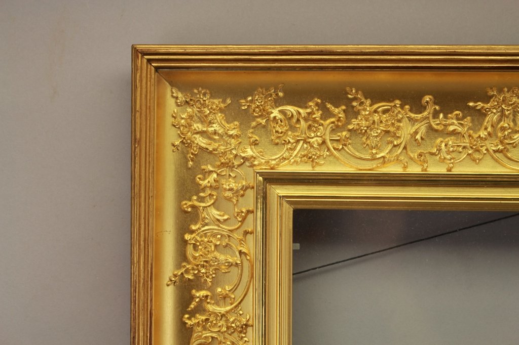 Antique Continental Gold Leaf Frame - 2