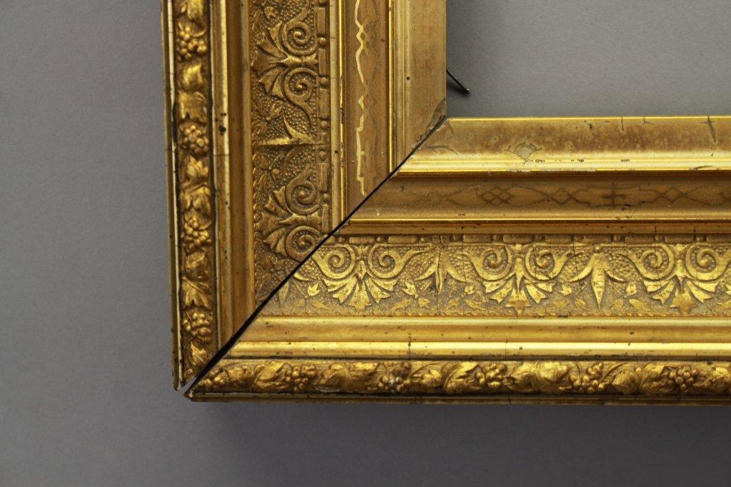 Antique Carved Gilt Continental Frame - 2