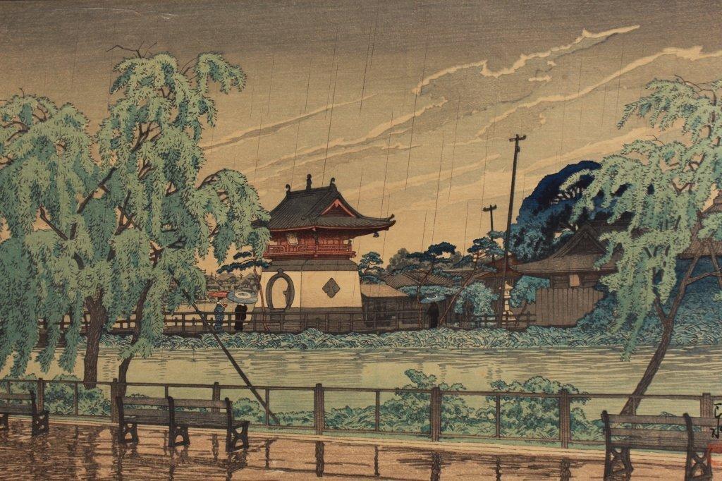 Antique Japanese Woodblock Print - 2